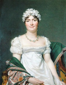 Jacques-Louis David's painting of La comtesse Daru