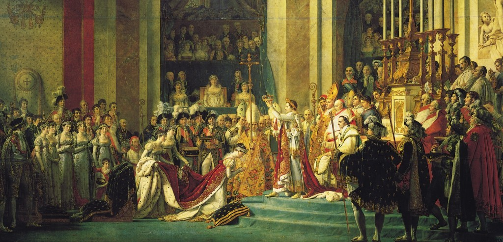 Jacques-Louis David's Coronation of Napoleon