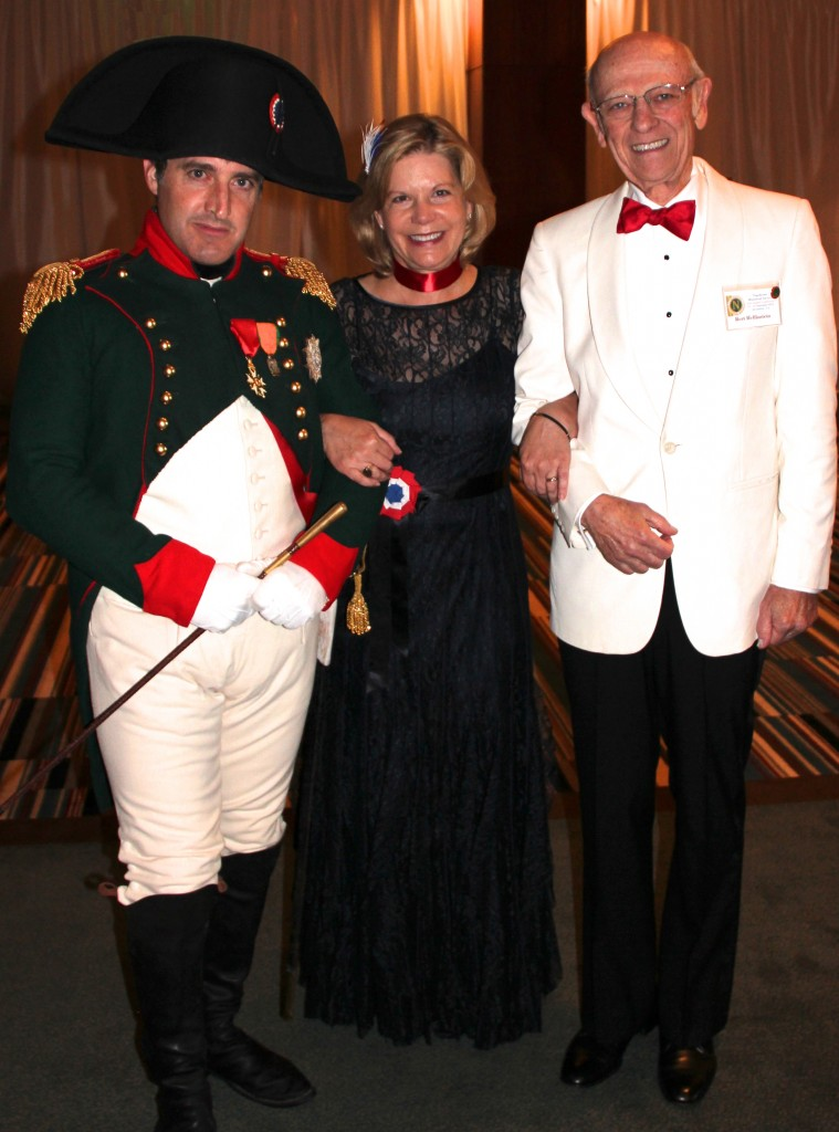 Napoleon, my husband and me