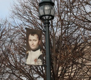 Napoleon Banner on the National Mall in DC