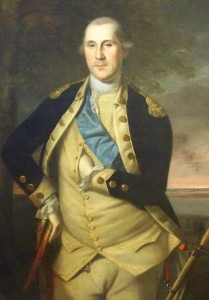 George Washington in 1776 - hand in jacket