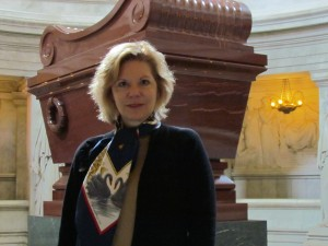 MAR at Les Invalides sarcophagus