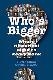 Who's Bigger? by Steven Skien and Charles Ward