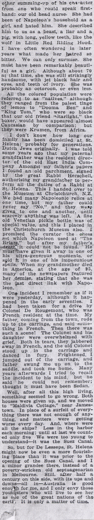 Part 2 - Article in Melbourne journal circa 1940