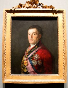 Arthur Wellesley, the Duke of Wellington by Francisco de Goya