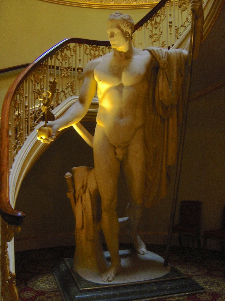Napoleon as Mars by Antonio Canova, at Apsley House, London