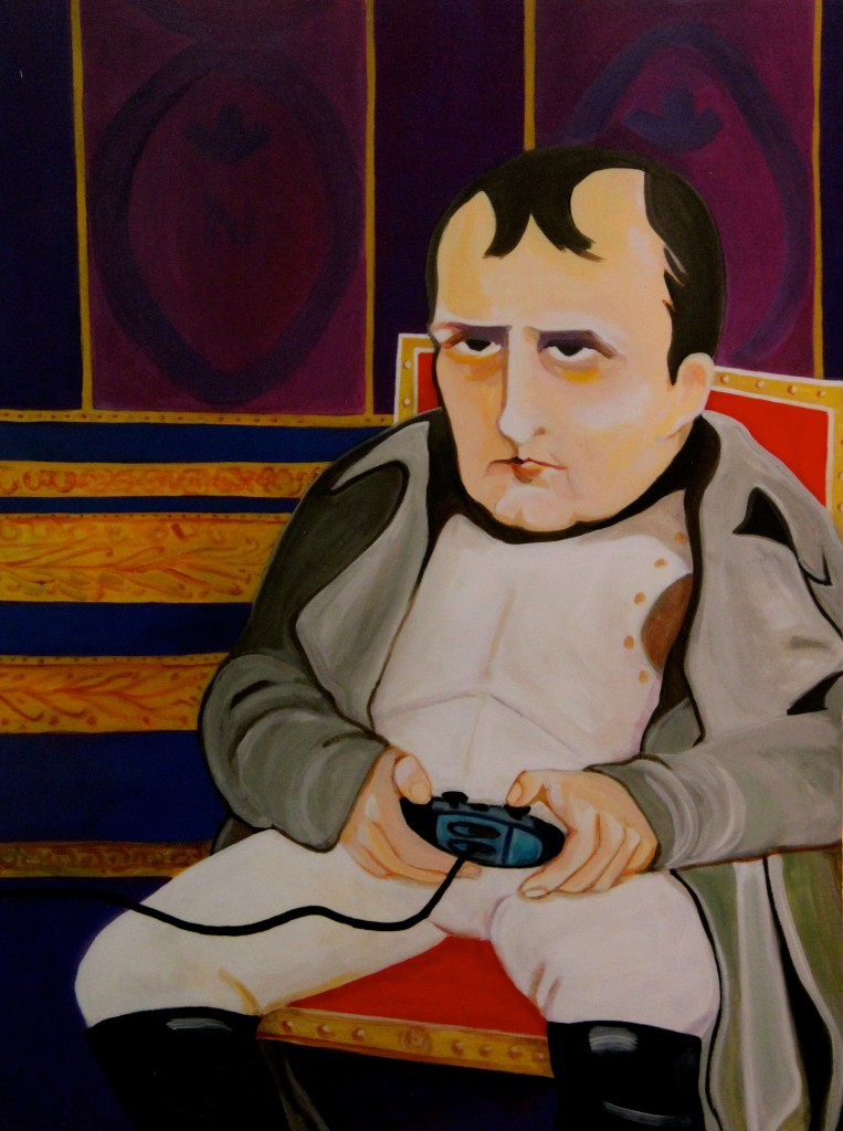War Games by Donna Lomangino (Fun Portrait of Napoleon Bonaparte)