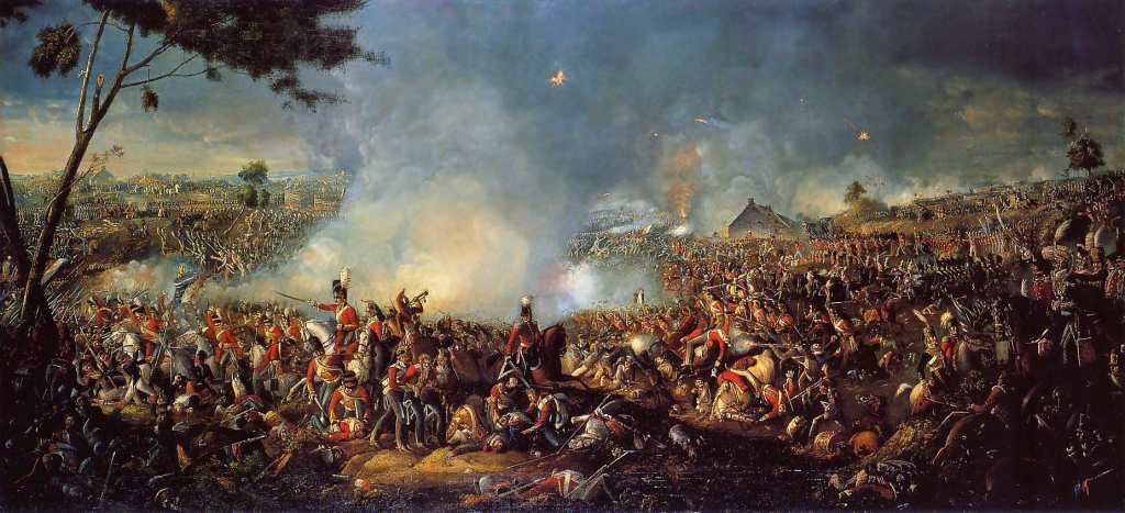 Battle of Waterloo 1815, William Sadler II, Pyms Gallery, London