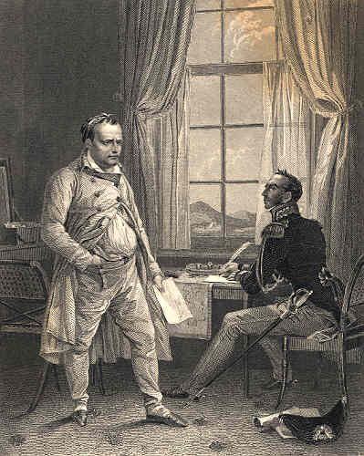 Napoleon Dictating on St Helena