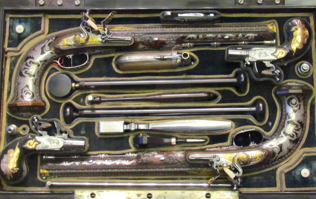 """Napoleon Bonaparte's Dueling Pistols Musée de l""""Armée Paris"""