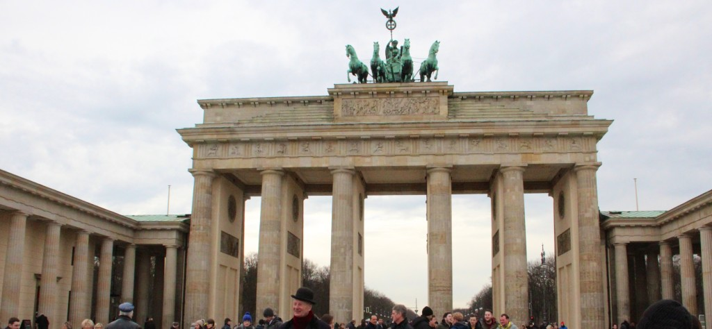 Brandenberg Gate, Berlin, Germany, Photo by Margaret Rodenberg, February 2016