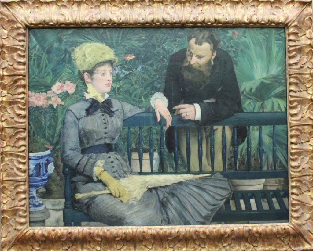 The Winter Garden by Edouard Manet