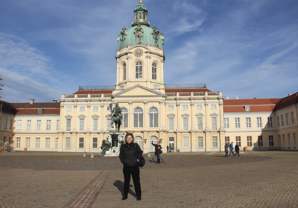 Margaret Rodenberg at Charlottenburg Palace, Berlin February 2016