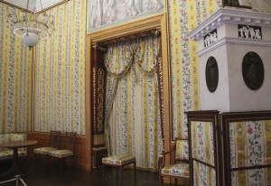 Queen Louise's bedroom, Charlottenburg Palace, Berlin, Photo by Margaret Rodenberg