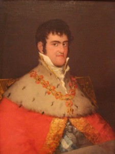 Goya's Portrait of Spain's Ferdinand VII in the Thyssen-Bornemisza Museum, Madrid