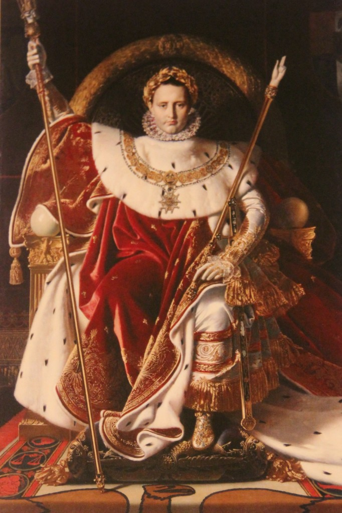 The Emperor Napoleon on his Imperial Throne by Jean-Auguste-Dominique Ingres