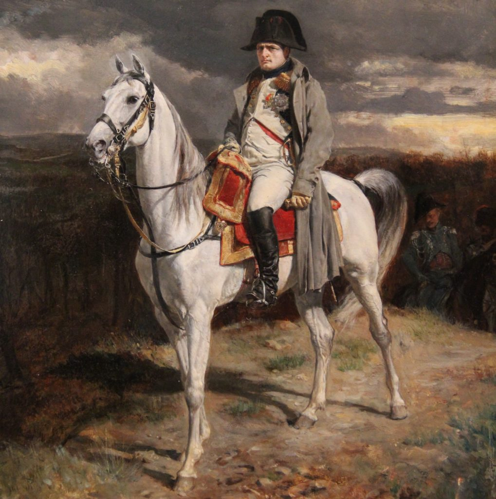 Napoleon 1814, by Jean-Louis Ernest Meisonnier, Walters Museum, Baltimore, Maryland, photo by Margaret Rodenberg