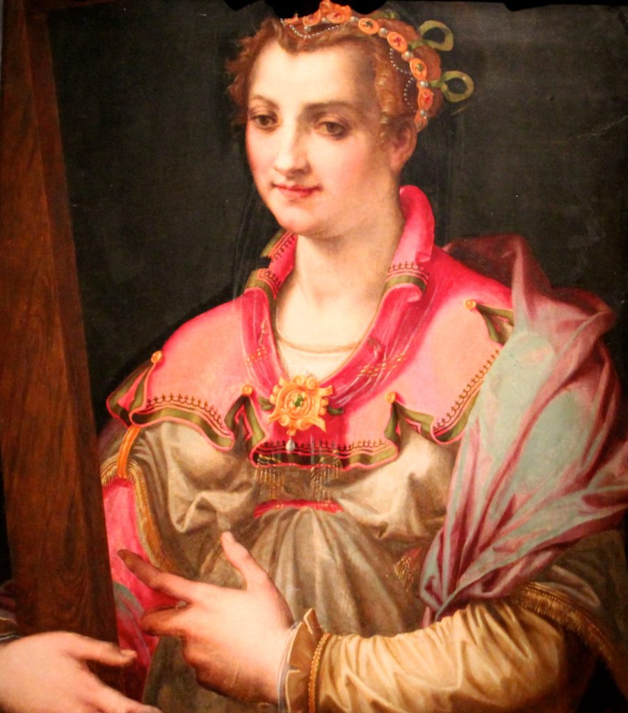 Saint Helena, by Francesco Morandini, known as Il Poppi, ca. 1575, Walters Museum, Baltimore, Maryland, photo by Margaret Rodenberg