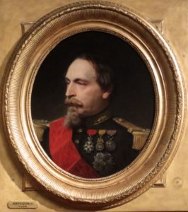 Napoleon III, by Adolphe Yvon, Walters Museum, Baltimore, Maryland, photo by Margaret Rodenberg